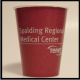 9 oz. Burgundy Colored custom printed Paper Party Cold Drink Cups. Great wholesale pricing for Weddings, Corporate Office Meetings, Sport events, Schools, Churches, Street Festivals, Restaurants, Bars and more! 9BZ40