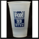 21 oz. Frosted disposable plastic custom printed Tumblers. A great Wedding, Club, Bar or Company Event or Street Party Idea! THE wholesale supplier of plastic, glass, Disposable, ceramic and Stainless Steel Cups and Shot Glasses!  20U356